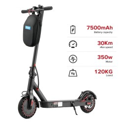 E40 Pro - electric scooter - foldable - 36V - 8.5 inch - 7500mah - 30km/h