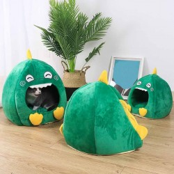 Pet house for cats / dogs - dinosaur shaped - pet kennel