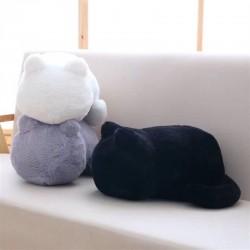Katzenförmiges Kissen - Plüschtier