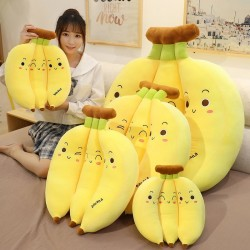 Bananenförmiges Kissen - Plüschtier - 35cm - 45cm