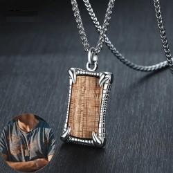 Rosewood pendants - keyrings - necklace