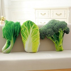 Cute vegetable plush toys - broccoli / Chinese cabbage / choi sum