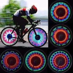 LED wheel light for bicycle - spoke lightning - 32 patterns