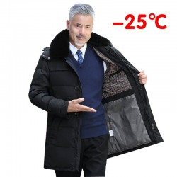 Winter thick jacket - with removable hood and collar