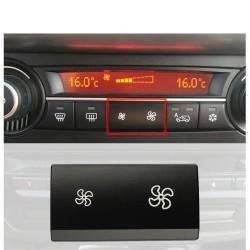 Lüfterknopfdeckel - Steuerschalter für Klimaanlage - für BMW X5 E70 X6 E71