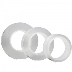Double sided adhesive nano tape - reusable - waterproof - 1M / 2M / 3M / 5M