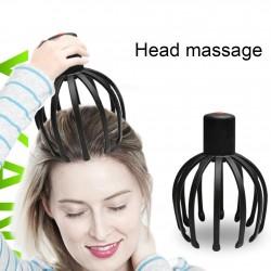 Elektrisches Kopfhautmassagegerät - Krakenkrallenform - therapeutisch - Stressabbau