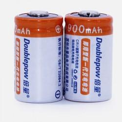 CR2 rechargeable battery - 3V - 900mAh - LiFePO4