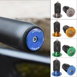 Bicycle handlebar end cap - aluminum alloy - MTB - road bike - replacement