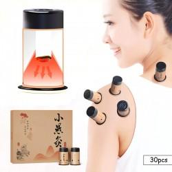 Mini moxibustion stickers - heat therapy - Chinese medicine - 30pcs