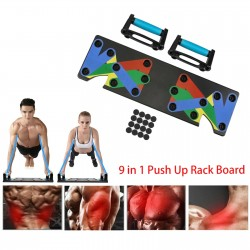 9 in 1 push up rack - upper body workout - portable