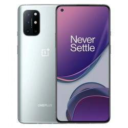 OnePlus 8T 5G Global Version KB2003 - dual sim - 8GB 128GB - NFC - Android 11 - 6.55 inch - Smartphone - Silver