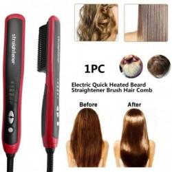 Multifunctional hair straightener / curler - electric - ceramic