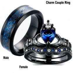 Blue emerald gems - couple...