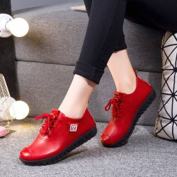 Soft flat shoes - with...