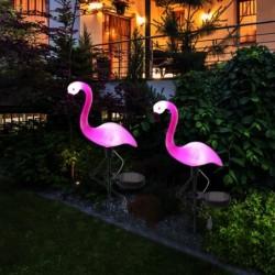 Solar Gartenlampe - wasserdicht - LED - Neon - Flamingo Form