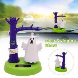 Solar swinging ghost - car interior toy