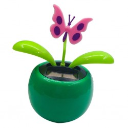 Schwingende Blume / Herz - solarbetriebenes Spielzeug