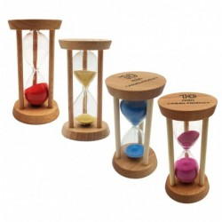 Wooden hourglass - timer -...