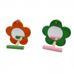 Flower shaped mirror - with...