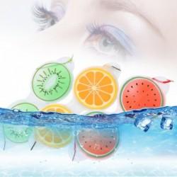 Gel-Augenmaske - Kompresse - Müdigkeit / Entfernung von Tränensäcken - Fruchtform