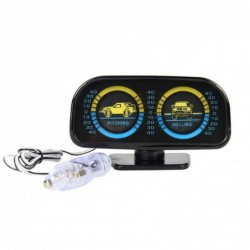 Multifunction car indicator - compass / slope measure / body angle
