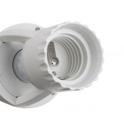 E27 Lamp fitting socket met infrarood bewegingssensor