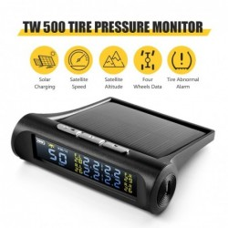 Universelles Auto-GPS - Tachometer - Reifendrucksensor - 2-in-1-Head-Up-Display - TW500 TPMS / HUD