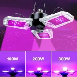 LED-Pflanzen wachsen Licht - Vollspektrum - wasserdicht - E27 / E26 - 40W - 60W - 80W - 100W - 200W - 300W