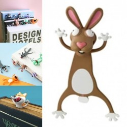 Animal shaped 3D bookmarks - for books / notebooks