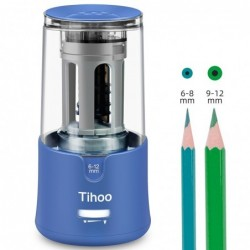 Automatic electric pencil sharpener - 6 - 12mm adjustable size
