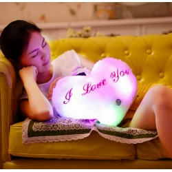 Plush I Love You Cushion Light & Music