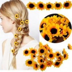 Sunflower - hair pin -...