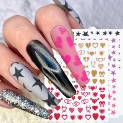Nail art stickers - water...