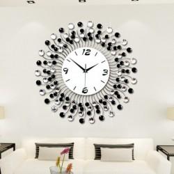 Modern living room - diamond clock - simple decoration - beautiful