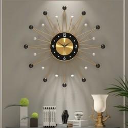 Nordic style - sun shape wall clock - 56cm