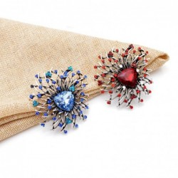 Shiny flower brooch - with...