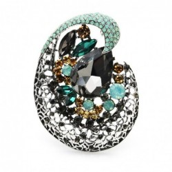 Shining crystal beauty womens brooche - your everyday desire
