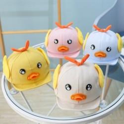 Kids baseball cap - duck with beak / eyes