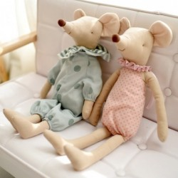 Mouse in pajamas - stuffed toy / doll
