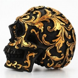 Black skull head - with...