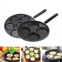 4 / 7 hole frying pan - non-stick - eggs - pancakes