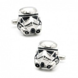 Stormtroopers shaped cufflinks