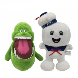 Ghostbusters plushies -...