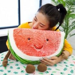 Wassermelonenförmiges Plüschtier - Kissen
