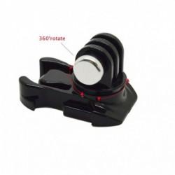 Schnellverschluss - 360-Grad-Drehung - vertikale Oberflächenmontage - für Xiaomi Yi / GoPro Hero 7/6/5/4/3 SJCAM SJ4000-Kamera