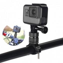 Fahrrad- / Motorradlenker Aluminiumklemmenhalter - für GoPro Hero / Xiaomi