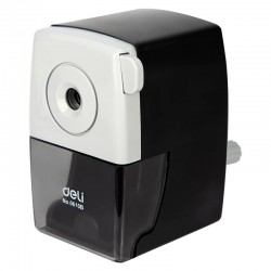 Rotary manual pencil sharpener - with bracket