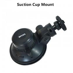 Ventosa de coche - soporte - giratorio de 360 grados - para GoPro SJCAM SJ5000 M20 SJ6 SJ8 SJ10 PRO SJ4000