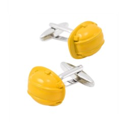 Nieuwe manchetknopen - gele...